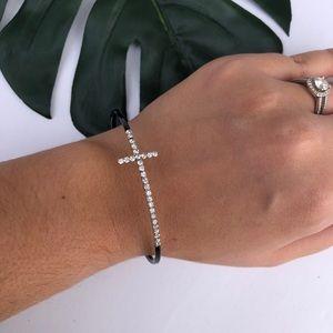 Premiere Design // Cross Bangle Bracelet